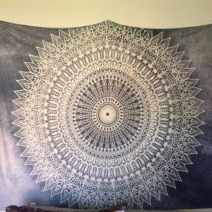 Grey tapestry
